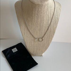 Saks Fifth Avenue Eternity Necklace
